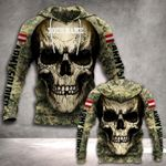 Customize Austria Army Soldier All Over Print Hoodies