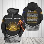 Customize Australian Army All Over Print Hoodie