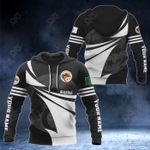 Customize Algeria Coat Of Arms New Style 3D Print All Over Print Hoodies