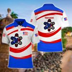 Customize Puerto Rico Flag Taino Sun All Over Print Polo Shirt