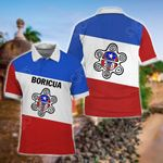 Boricua Taino Sun All Over Print Polo Shirt