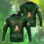 Irish Woman St.Patrick Day All Over Print Shirts