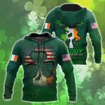 Irish Girl St.Patrick Day All Over Print Shirts