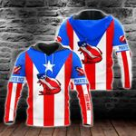 Customize Puerto Rico Coqui Flag All Over Print Hoodies