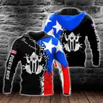 Customize Puerto Rico Flag Coqui Frog All Over Print Shirts