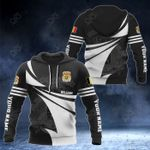 Customize Belgium Coat Of Arms New Style 3D Print All Over Print Hoodies
