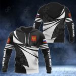 Customize Russia Coat Of Arms New Style 3D Print All Over Print Hoodies