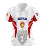 Norway Coat Of Arms Special Form All Over Print Polo Shirt