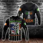 Irish Cross - American By Birth Patriot By Choice All Over Print Shirts