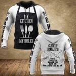 Master Chef My Kitchen My Rules All Over Print Shirts