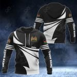 Customize Kenya Coat Of Arms New Style 3D Print All Over Print Hoodies