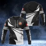 Customize Peru Coat Of Arms New Style 3D Print All Over Print Hoodies