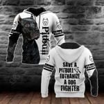 Save The Pit Bull Terrier All Over Print Shirts
