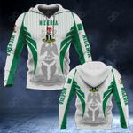 Nigeria Coat Of Arms Special Form All Over Print Hoodies