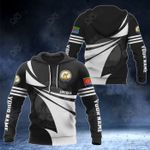 Customize Eritrea Coat Of Arms New Style 3D Print All Over Print Hoodies