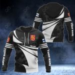 Customize Finland Coat Of Arms New Style 3D Print All Over Print Hoodies