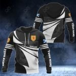 Customize Scotland Coat Of Arms New Style 3D Print All Over Print Hoodies