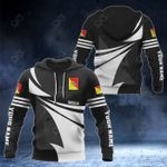 Customize Sicilia Coat Of Arms New Style 3D Print All Over Print Hoodies