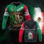 American Grown With Mexican Roots - Mexican Pride All Over Print Hoodies