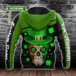 Customize The Irishman St Patrick's Day All Over Print Shirts
