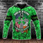 Happy St Patrick's Day Son Of Ireland Shenanigans Chapter All Over Print Shirts
