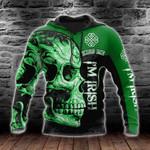 Kiss Me I'm Irish All Over Print Shirts