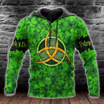 Happy St Patrick's Day Shamrock All Over Print Shirts