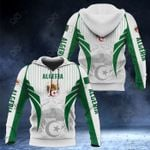 Algeria Coat Of Arms Special Form All Over Print Hoodies