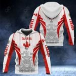 Canada Coat Of Arms Special Form All Over Print Hoodies