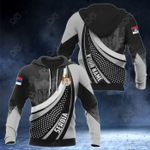 Customize Serbia Print 3D All Over Print Hoodies