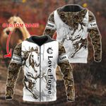 Customize Love Horse 3D All Over Print Shirts