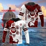 Customize Puerto Rico Taino - Red 3D All Over Print Shirts