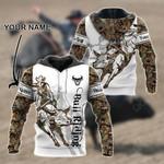 Customize Bull Riding 3D All Over Print Shirts