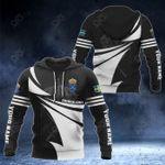 Customize Swedish Army New Style 3D Print All Over Print Hoodies