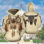 Custom Name Native American Shield All Over Print Hoodie