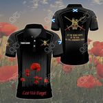Customize Scotland - British Army All Over Print Polo Shirt