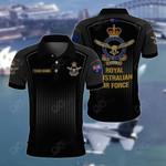 Customize Australian Air Force All Over Print Polo Shirt