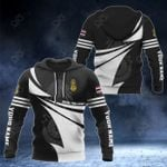 Customize Royal Thai Army New Style 3D Print All Over Print Hoodies