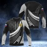 Customize Russia Print 3D All Over Print Hoodies