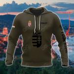 Customize Hungary Coat Of Arms Hoodies