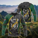 South Africa Rugby All Over Print Hoodies