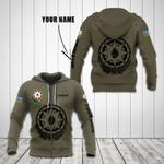 Customize Azerbaijan Coat Of Arms Hoodies