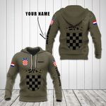 Customize Croatia Coat Of Arms Hoodies
