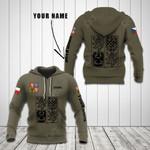 Customize Czech Republic Coat Of Arms Hoodies