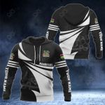 Customize Mauritius Coat Of Arms New Style 3D Print All Over Print Hoodies