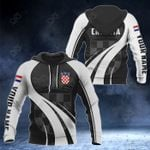 Customize Croatia Coat Of Arms Special Form 3D All Over Print Hoodies