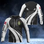 Customize Denmark Coat Of Arms Special Form 3D All Over Print Hoodies