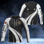Customize Moldova Coat Of Arms Special Form 3D All Over Print Hoodies