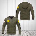 Customize Japan Coat Of Arms Hoodies