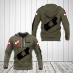 Customize Lebanon Coat Of Arms Hoodies